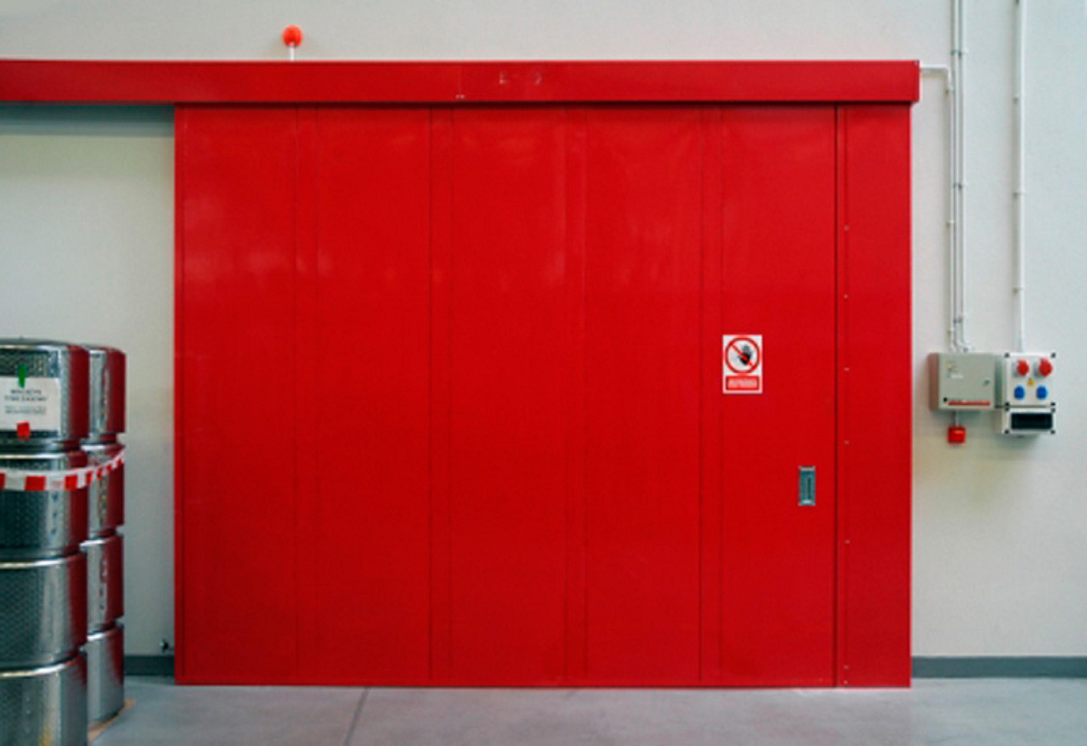 противопожарные секционные ворота цена